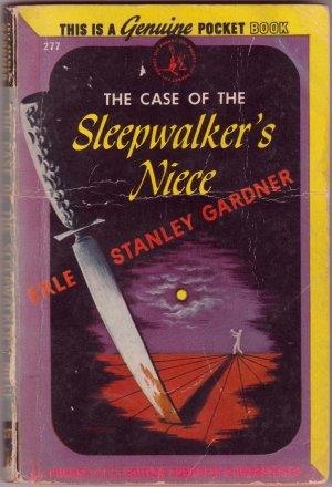 The Case Of The Sleepwalker's Niece, Gardner, Vintage Paperback, Pocket Book #277, Mystery