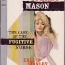 The Case Of The Fugitive Nurse, Erle Stanley Gardner, Vintage Paperback, Pocket Book #6045, Mystery