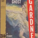 The Case Of The Glamorous Ghost, Erle S. Gardner, Vintage Paperback Book, Cardinal #C-282, Mystery