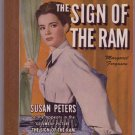 The Sign Of The Ram, M. Ferguson, Vintage Paperback Book, Bantam #158, Mystery