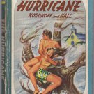 The Hurricane, Nordhoff and Hall, Vintage Paperback, Pocket Books #188, Adventure