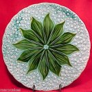 GM372,ANTIQUE GERMAN MAJOLICA PLATER Lily of the Valley