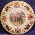 Antique Utzschneider Sarreguemines Faience Plate c.1799, ff230