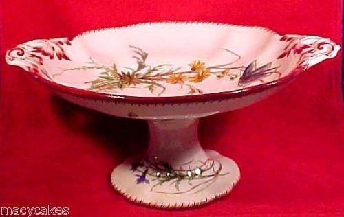 Antique Majolica Faience Sarreguemines Compot 1860-1890, ff202