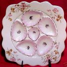 BEAUTIFUL ANTIQUE AUSTRIAN OYSTER PLATE, op79