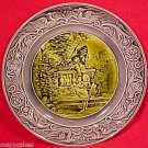 ANTIQUE FRENCH OR GERMAN MAJOLICA PLATE c1800-1880, pc24
