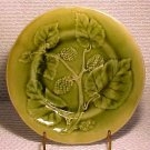 ANTIQUE FRENCH CHOISY-LE-ROI MAJOLICA POTTERY PLATE, fm144
