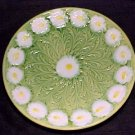 ANTIQUE GERMAN MAJOLICA POTTERY PLATE SCHRAMBERG SMF, gm34