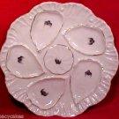 Antique Austria Victorian Porcelain Oyster Plate c.1876, op131