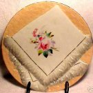 ANTIQUE GERMAN NAPKIN PLATE c.1800's SALMON, GREY, p9