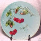 ANTIQUE GERMAN MAJOLICA POTTERY PLATE ZELL c.1907-1928, gm242