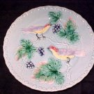 ANTIQUE GERMAN MAJOLICA POTTERY PLATE ZELL, gm85