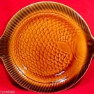 VINTAGE MAJOLICA POTTERY FRENCH SARREGUEMINES FISH PLATE, fm542