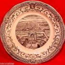 Antique Sarreguemines Faience Majolica Pottery Plate 1856 Lyon, ff226