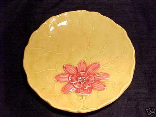 VINTAGE GERMAN MAJOLICA Pottery PLATE ZELL, gm53