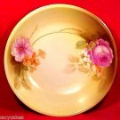 ANTIQUE RS PRUSSIA Porcelain Pottery BOWL FLOWERS c.1905-1915 GERMANY, L72