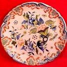 Antique Desvres n. Quimper Rouen Flower Cornicopia Faience Plate, c.1903, ff249