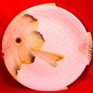 Vintage Italian Majolica Sun Fish Plate c.1953, im64