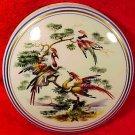 Large Vintage Limoges Enameled Birds of Paradise Dresser Box c.1940-1950, L185