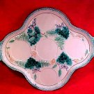 Antique Majolica Dresser Tray Platter, gm739