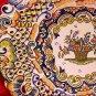 Antique Vintage Rouen Decor Desvres n. Quimper Pierced Cabinet Wall Plate, ff268
