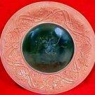 Antique Etruscan Classical Majolica Plate c.>1879, fm593