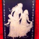 Vintage Villeroy & Boch German Pate sur Pate Mother's Day Tile, gm788
