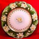 Antique Austrian Fine Porcelain Water Lilies, Lily Platter c.1884-1909, pc32