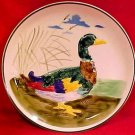 Antique French or German Majolica Duck Plate, fm739