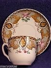 Antique French Faience K&G Luneville Cup & Saucer, ff232
