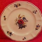 Vintage French Sarreguemines Faience Plate, ff36