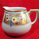 Antique German Hand Painted Porcelain Cider Pitcher c.1880-1920, p176