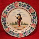 Vintage HB Quimper Hand Painted French Faience Plate, ff284