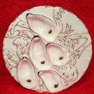 Antique Limoges Turkey Design Oyster Plate c.1800's, L221