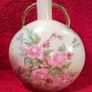 Antique Haviland Limoges Unusual Shaped Canteen Vase c.1894-1931, L252