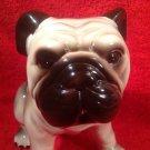 Great Antique Vintage Majolica English Bulldog Figurine, gm812