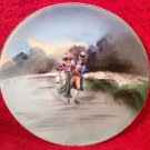 Antique French Limoges Hand Painted Cabinet Plate by Known Limoges Artist, L245