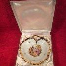 Lovely Vintage French Limoges Porcelain Foie Gras Serving Set In Original Box, L317
