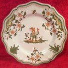 "Antique Vintage French Faience ""Grotesque"" Moustiers Plate, ff405"
