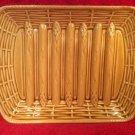 Antique Vintage Sarreguemines Golden Majolica Asparagus Platter, fm948