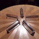 Antique Vintage French St. Louis Clover Shaped Crystal Knife Rests, gl124
