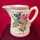 Vintage Luneville French Faience Creamer, lun94