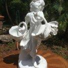 Beautiful English Copeland Spode Fine Porcelain Running Girl Figurine, p241