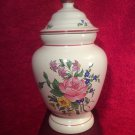 Gorgeous Vintage French Faience Luneville Apothecary Pharmacy Jar c1993, ff464
