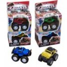 "Die-Cast Mini ""Quad Rods"" Monster Trucks and Cars, 2-ct. Packs"