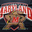 University of Maryland - team logo fleece throw blanket 44x 53
