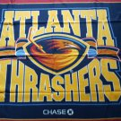 Atlanta Thrashers team logo fleece throw blanket 44x 53