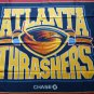 Atlanta Thrashers team logo fleece throw blanket 44x 53