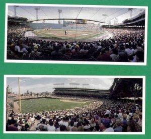 LOT   20 Stadium Art Cards Wrigley   Shea   Fenway   Camden  1992