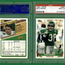 Pair 1993 TOPPS # 366 - Rich Miano - Philadelphia Eagles - PSA MINT 9 - Football Card